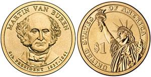 Martin Van Buren Presidential Dollar
