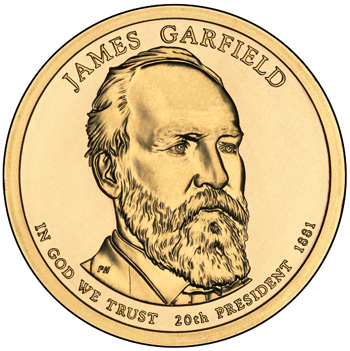 James Garfield Presidential Dollar