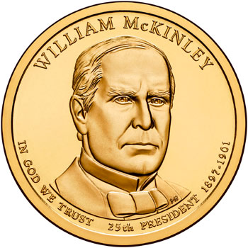 William McKinley Presidential Dollar