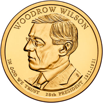 Woodrow Wilson Presidential Dollar