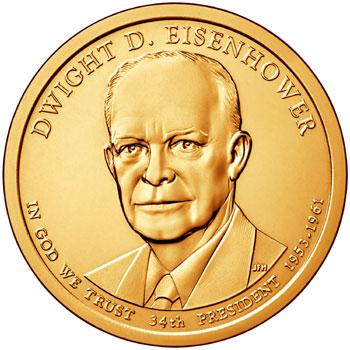 Dwight D. Eisenhower Presidential Dollar