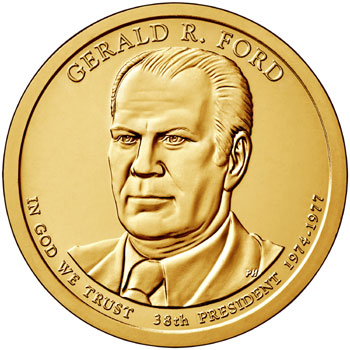 Gerald Ford Presidential Dollar