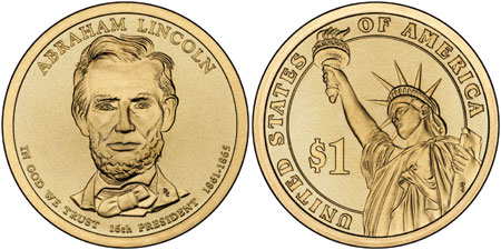 Abraham Lincoln Presidential Dollar